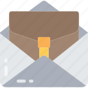 business, email, important business, letter, mail icon