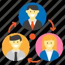 business, finance, money, organization, work icon