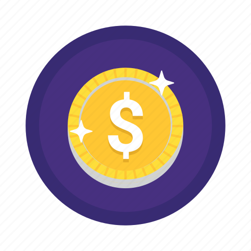 business, cash, cent, coin, currency, dollar, finance, gold coin, money, payment icon