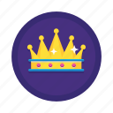 chess, crown, game, king, queen, royal icon