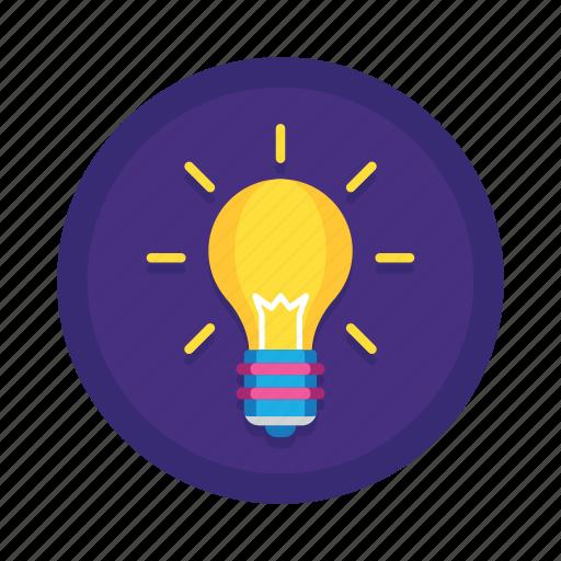 brainstorm, bulb, creative, electric, electricity, energy, idea, lamp, light, lightbulb icon