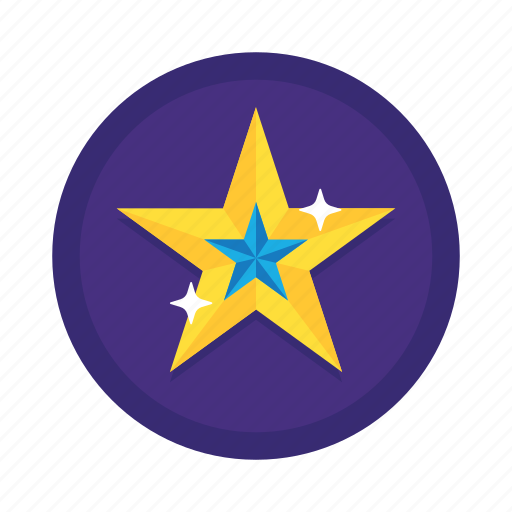 award, badge, favorite, gold star, rating, star icon