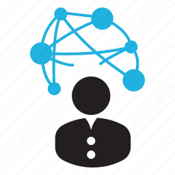 interconnected, web icon