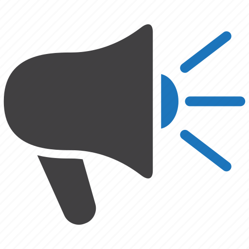 Megaphone, announcement, loudspeaker icon - Download on Iconfinder