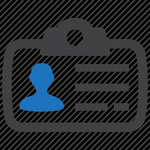 identity, name, tag icon