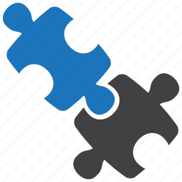 jigsaw, puzzle, solution icon