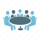 business, discussion, gd, group, management, team, teamwork icon