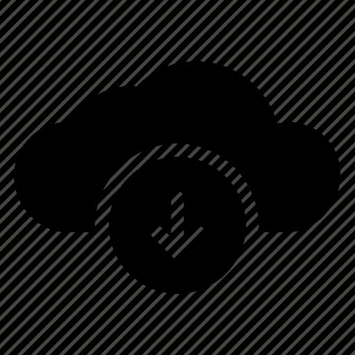 Cloud, computing, database, download, server, storage, weather icon - Download on Iconfinder