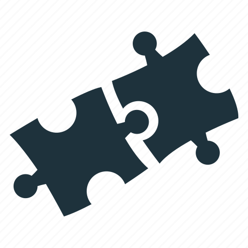 business, jigsaw, puzzle, solution, strategy icon