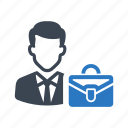 bag, business, businessbag, businessman, company, office icon