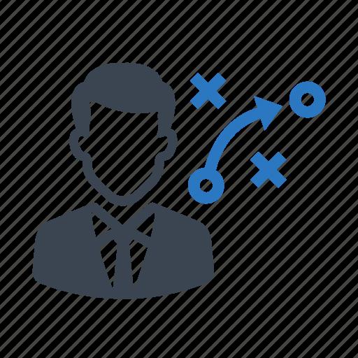 business, businessman, marketing, plan, strategy icon