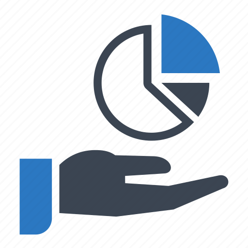 analytics, financial, graph, pie chart, report icon