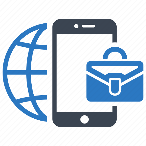 business, international, mobile, office, online icon