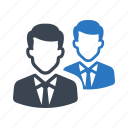 businessman, man, people, social, team icon