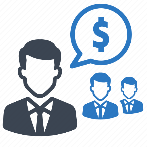 analytics, chat, financial, meeting, money icon