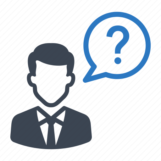 faq, help, message, question, service icon