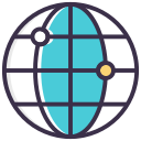 global, globe, link, world icon icon