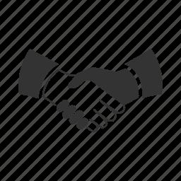 agreement, business, handshake, partnership icon