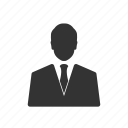 account, business, businessman, suit, user icon