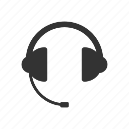 headphone, headset, support icon
