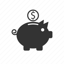 bank, budget, piggy, savings icon