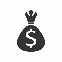 bag, bank, money icon