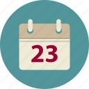 business, calendar, events, planning icon