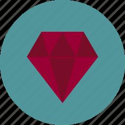 gem, high quality, precious, premium, service icon
