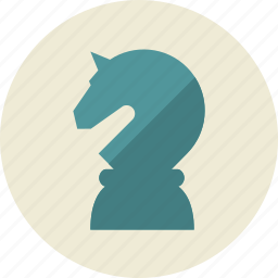 business, chess, horse, marketing, seo, shape, strategy icon