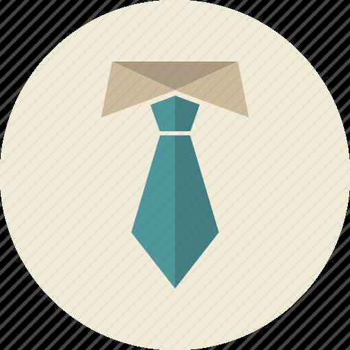 business, collar, presentation, tie, vip icon