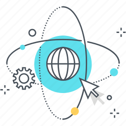 earth, global progress, globe, seo, technology, world icon