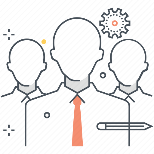 businessman, human, partnership, team, team leader, teamwork icon