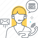 head set, help, help line, info, support icon