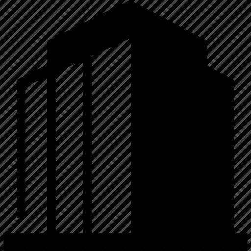 architect, architecture, building, business, headquarters, office, skyscraper icon