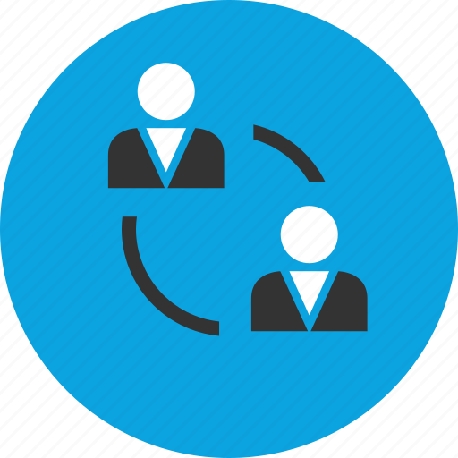business, meeting, seo icon