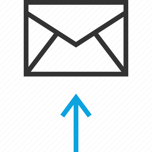 email, internet, send, upload icon