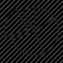 business, diagram, round icon