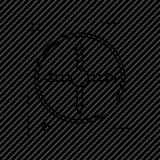 arrow, chevron, curved, direction icon