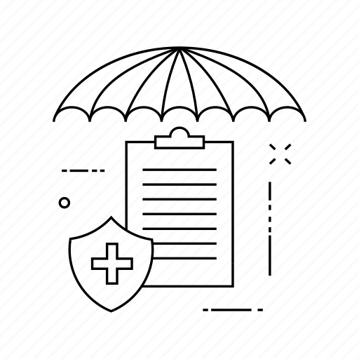 document, protection, secure, shield icon