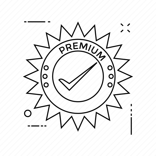 badge, label, tag, tick icon