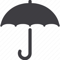 insurance, protection, shade, umbrella icon