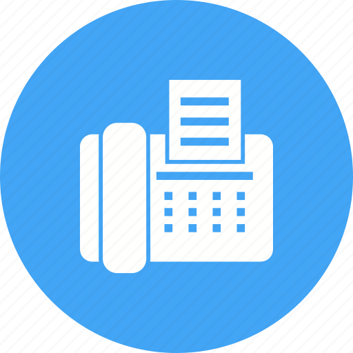 Communication, equipment, fax, machine, office, telephone icon - Download on Iconfinder