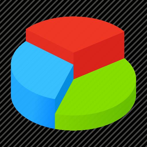 Business, graph, chart, pie, diagram, presentation, market icon
