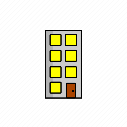 building, business, city, office, work, workspace icon