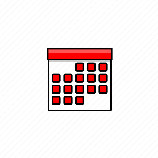 agenda, business, calendar, month, plan, schedule, time icon
