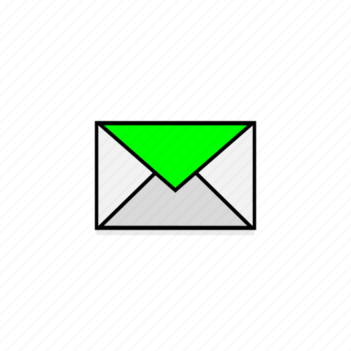 business, email, envelope, letter, mail, post, postal service icon