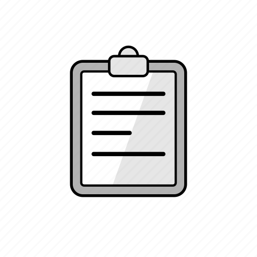 business, clipboard, list, note, notes, paper icon