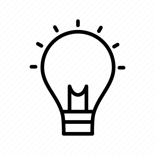 bulb, concept, creativity, idea icon