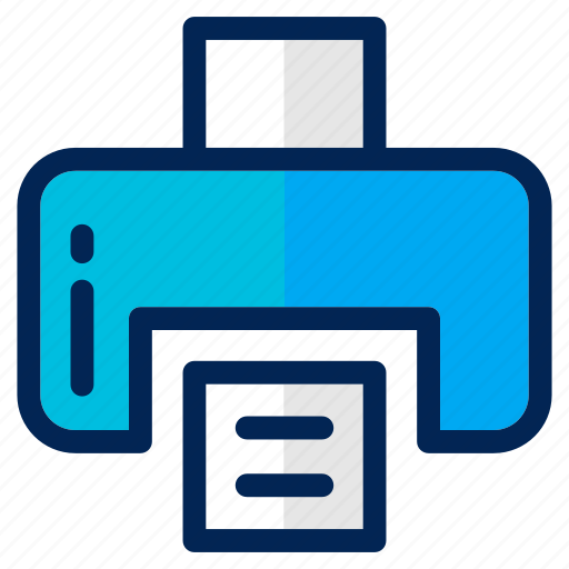 business, computer, document, file, management, paper, print icon