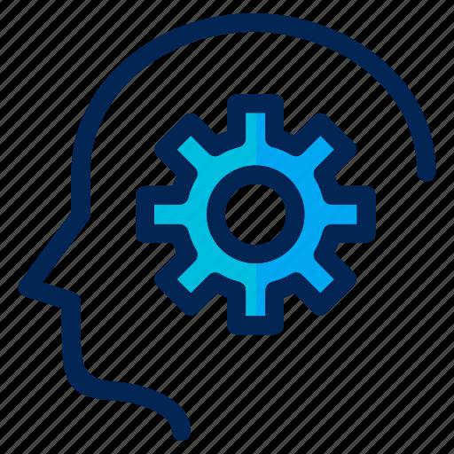 analytics, business, creative, management, mind, smart, think icon